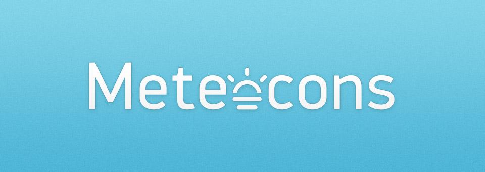 Meteocons • 40+ Weather Icons Free