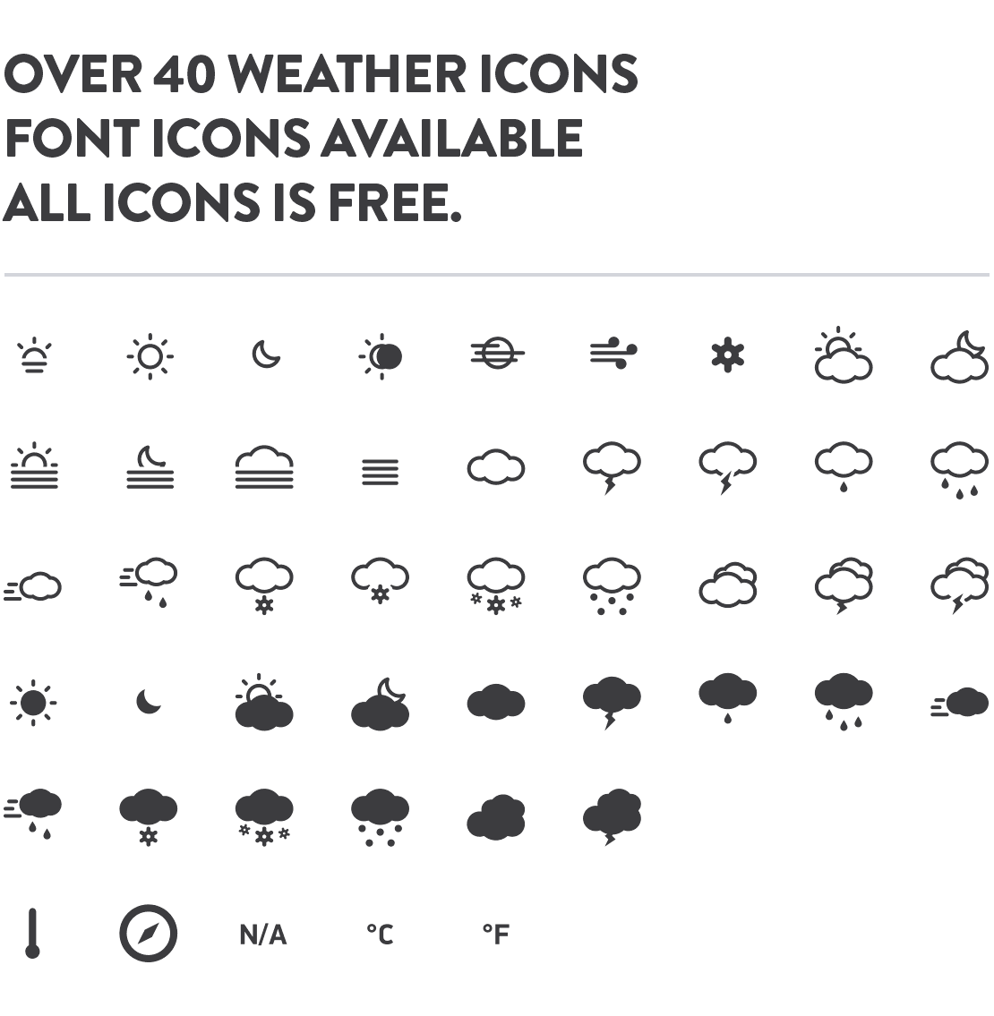 meteocons-all-icons